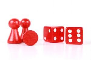 Rote Spielfiguren